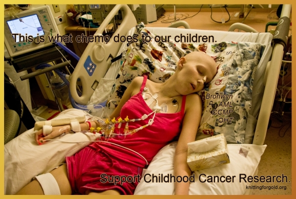 This is what chemo does to our children